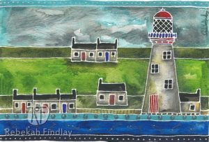 Lighthouse & Harbour Houses