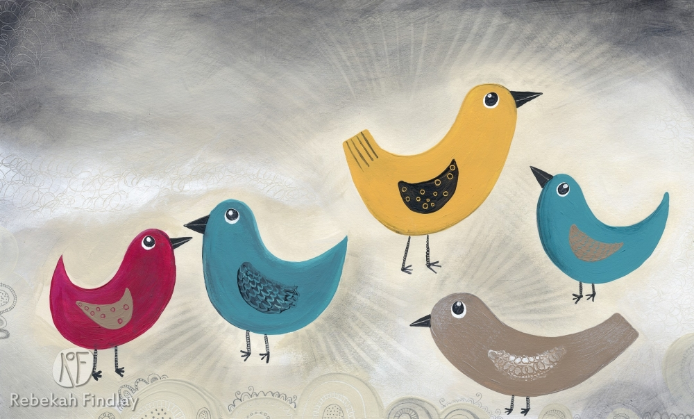 Little Birds - SOLD