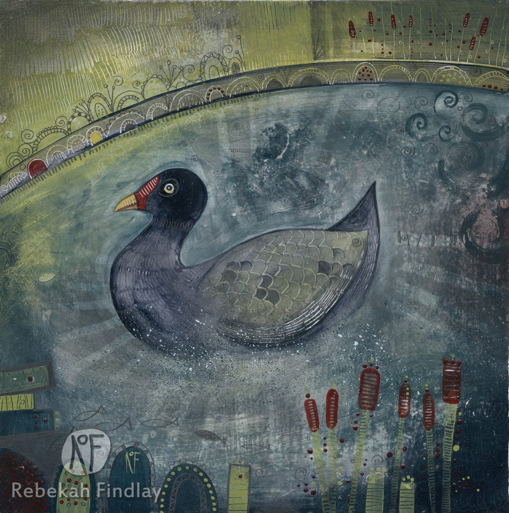Moorhen - SOLD