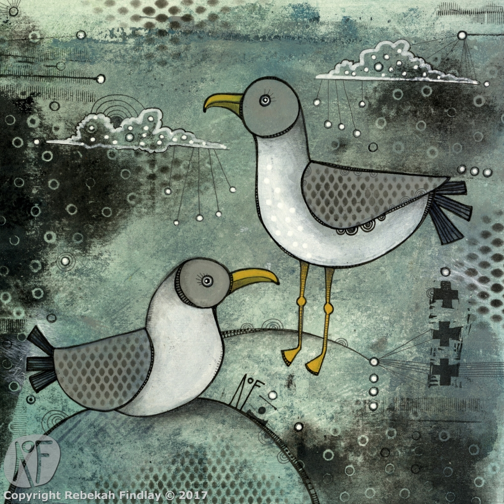Seagulls - SOLD