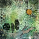 Hare & Three Tree - SOLD
