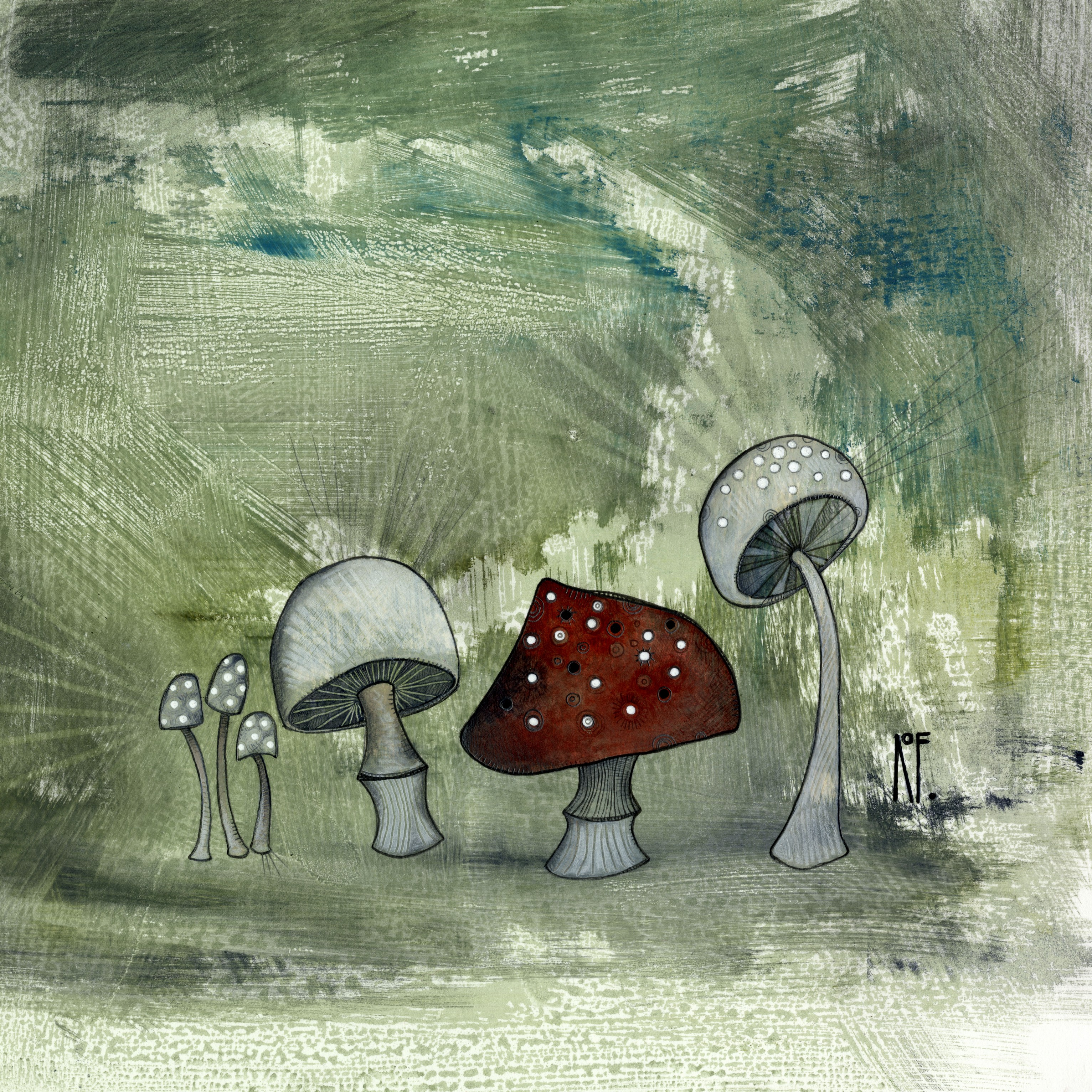 Mushrooms - SOLD